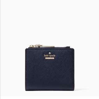SALE Kate Spade Cameron Street Adalyn Small Wallet Twilight Blue