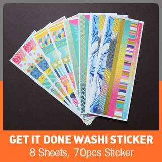 Get It Done Washi Sticker
