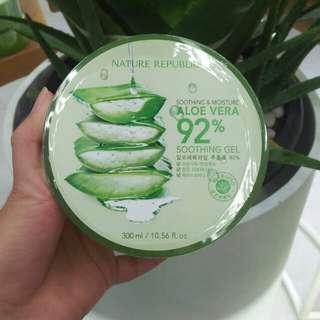 Nature Republic Aloe Vera Soothing Gel 100% ORI