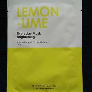 Boom De Ah Dah Lemon-Lime Mask (brightening)