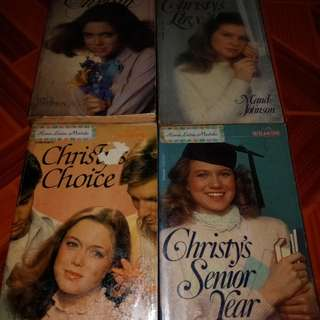 Wildfire presents Christy's sequels pocketbooks