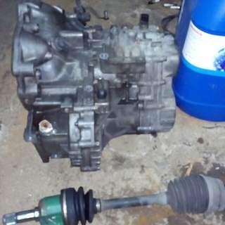 gearbox evo3 semi lsd skali drive shaft pendek