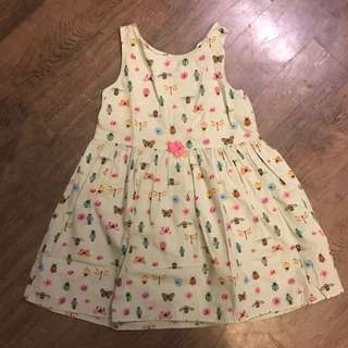 H&M Green dress for 3-4 yo
