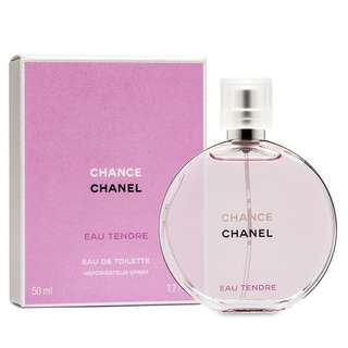[BRAND NEW] CHANCE EAU TENDRE BY CHANEL 50ML EDT
