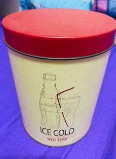 兒時回憶-可口可樂鐵罐 Coca-Cola (小時購自可樂專門店)