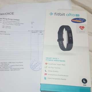 Fit bit alta手錶(有单)原價1300