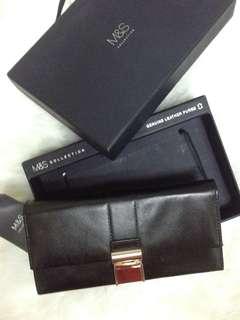 M&S genuine leather purse