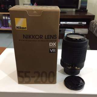 Nikon 55-200mm DX Lens (Price Nett )