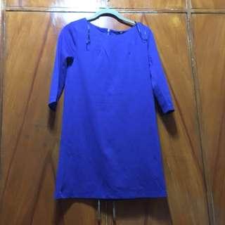 Blue dress h&m