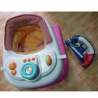 25sgd only! Infant / toddler Walker seat trainer