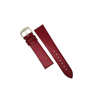 Genuine Classic Leather Watch Strap in Purple