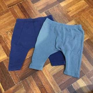 2pcsNEXT BABY DIAPER PANTS 3mths
