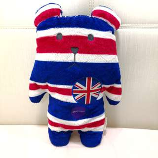 *Free postage😁 100% Original Craftholic Union Jack bear extra soft toy
