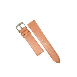 Genuine Classic Leather Watch Strap in Pink