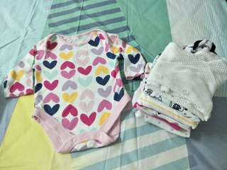 (7+1pcs) othercare, Miki,  Baby love Baby Romper