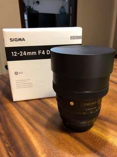 Sigma 12-24mm f4 DG HSM | Art - Canon EF Mount