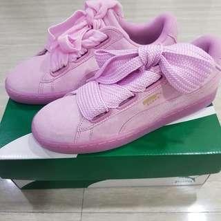 puma ribbon shoe