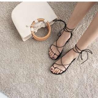 🚚 綁帶涼鞋👍🏻(全新)尺寸37