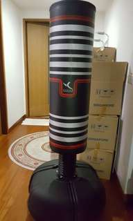 Punching bag for kick boxing