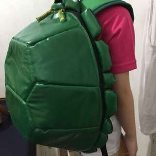 Repriced! TMNT Shell Backpack Green
