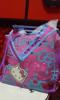 Hello Kitty Pink Transparent Bag