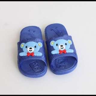 小藍熊室外拖鞋 浴室拖鞋內長17.5cm 全新
