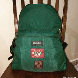 Backpack United Color Of Benetton