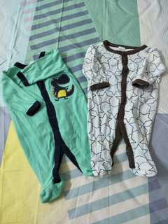 (4pcs) Next and Baby Love Rompers