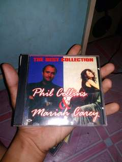 CD the best of phill colins&mariah carrey #UBL2018