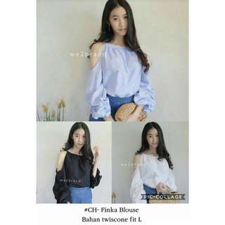 Off sleeve blouse girl