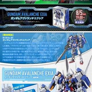 MB Metal Build Exia Avalanche 00 雪崩 高達+雪橇 robot 魂 wing gffmc