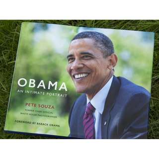 Obama: An Intimate Portrait Hardcover Book