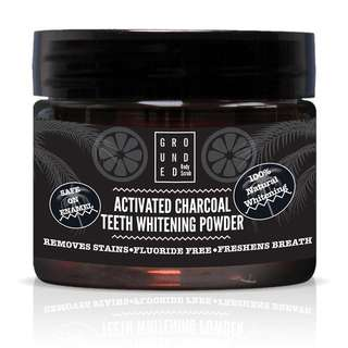 INSTOCK: ACTIVATED CHARCOAL TEETH WHITENING POWDER