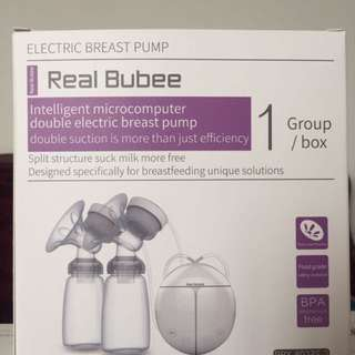 Real Bubee Double Breastpump (pre-loved!)