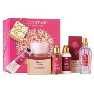L'OCCITANE Bath Gift Set (3 Items)