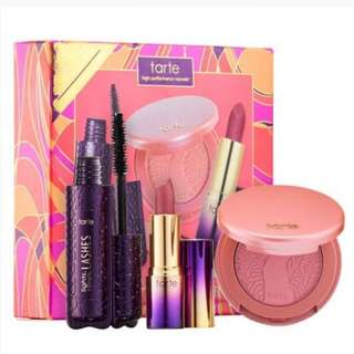 BNIB Intro To Tarte Deluxe Discovery Set (3pc)