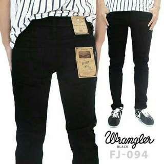 Celana jeans black pria