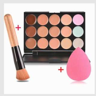 Cream Contour and Concealer Set