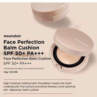 #101 moonshot face perfection balm cushion spf 50+