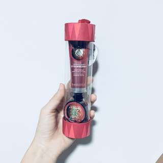 The Body Shop Strawberry Handcream and Lip Butter