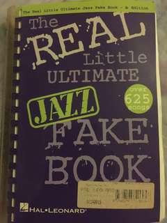 Real jazz fake book Bb edition