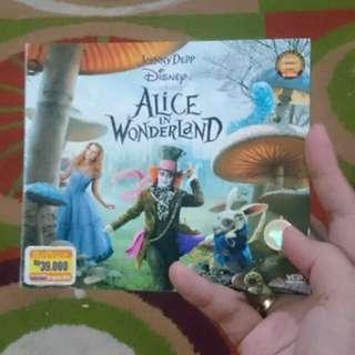 DVD ORi Alice in Wonderland