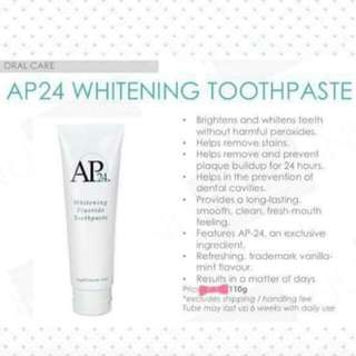 AUTHENTIC Whitening Toothpaste
