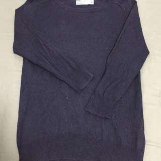 Nagy Blue Sweater Pullover by Zara