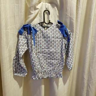 Girl's top for 6 years/ 120cm and below