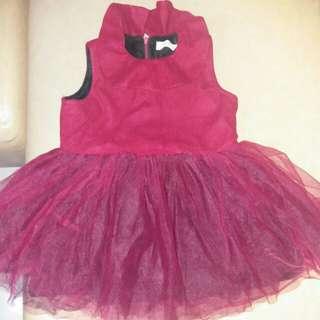 💟包順豐智能櫃💟紅色厚身背心裙