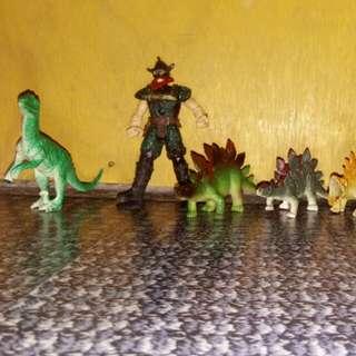 Dinosaur Bundle w/ Hunter