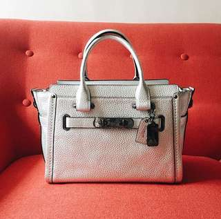 Coach Swagger 27 in Silver