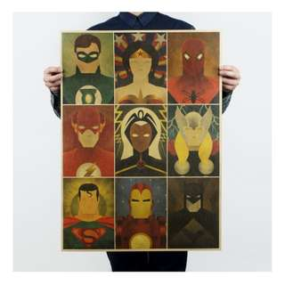 [2 for $5] Huge Superheroes Posters