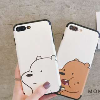 We bare bear iphone casing [PO]